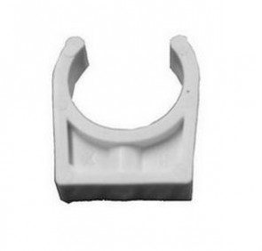 Certikin Pipe Clip - White ABS Pipework (1.5inch)