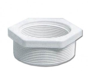 Certikin Threaded Reducer - White ABS Pipework (2inch) Pack of 10