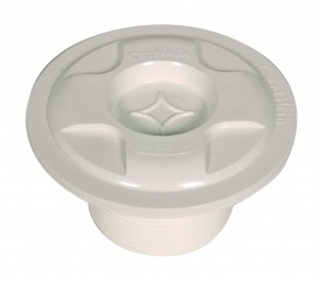 Certikin Vac Point with plug (shown with plug fitted) for liner pools HD20